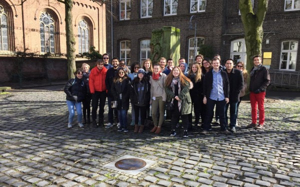 Students in Europe for our Heart of Europe Program