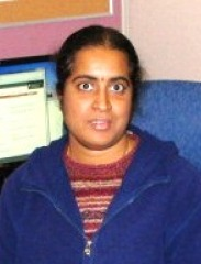 Mathangi Krishnamurthy, Ph.D., Department of Biology and Chemistry