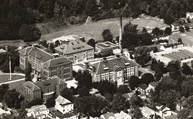 picture of the quad from the 1950s