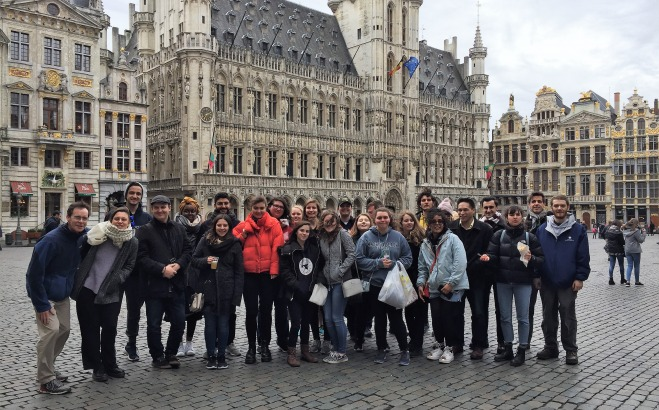 Students in Brussels