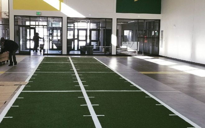 Interior of the Exercise and Sports Science Building