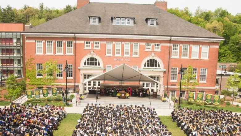 Commencement ceremonies will be streamed live