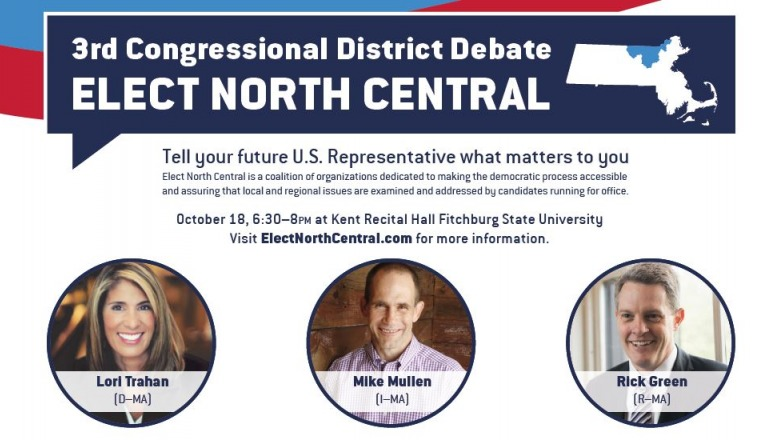 University to host 3rd Congressional District debate Thursday, Oct. 18