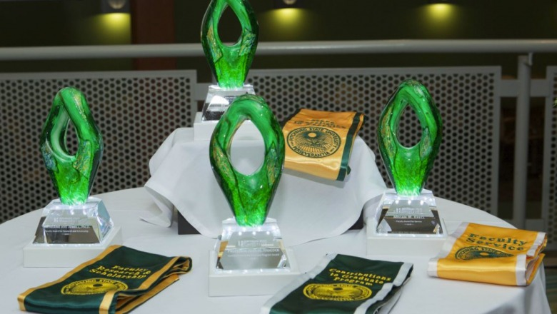 Awards ceremony highlights faculty excellence
