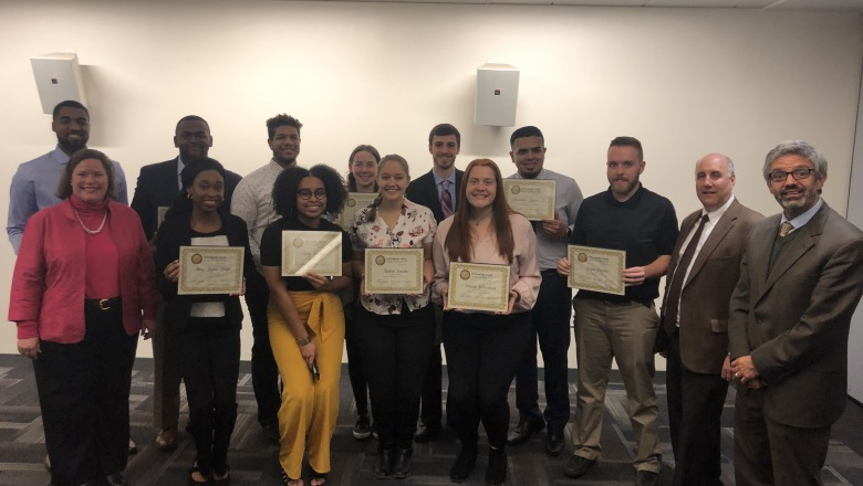 Students complete Falcon Leadership Certification