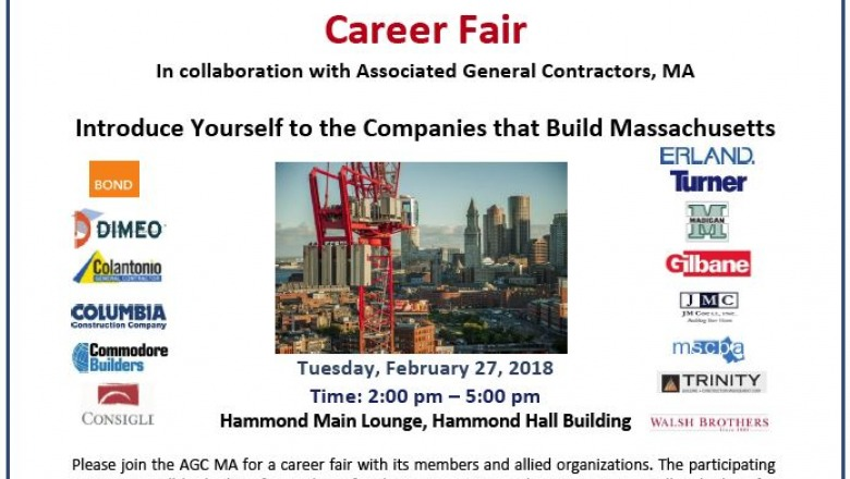 Career fair will bring students, construction firms together