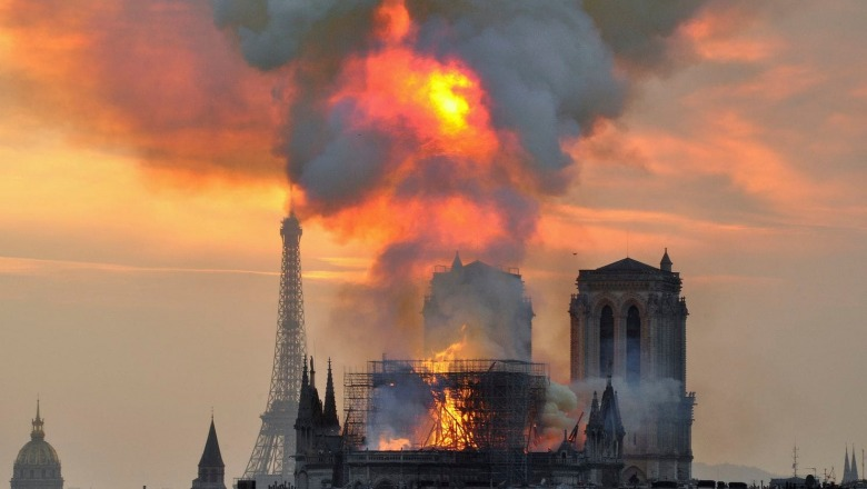 Faculty Perspective: Why you don't need to be French or Catholic to mourn the Notre Dame fire