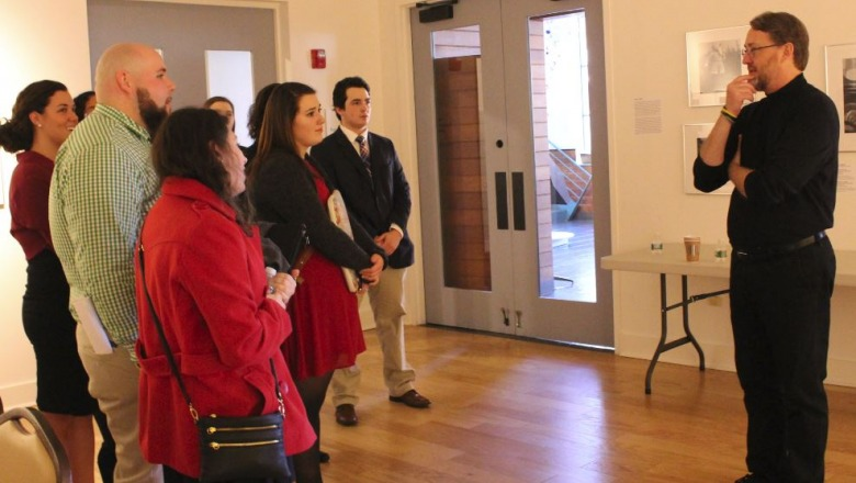 Students at Fitchburg Art Museum