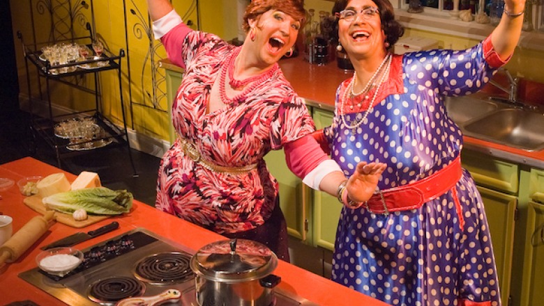 "CenterStage presents ""Cooking with the Calamari Sisters"" on Nov. 3"
