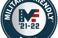 Logo for Military Friendly 2021-22