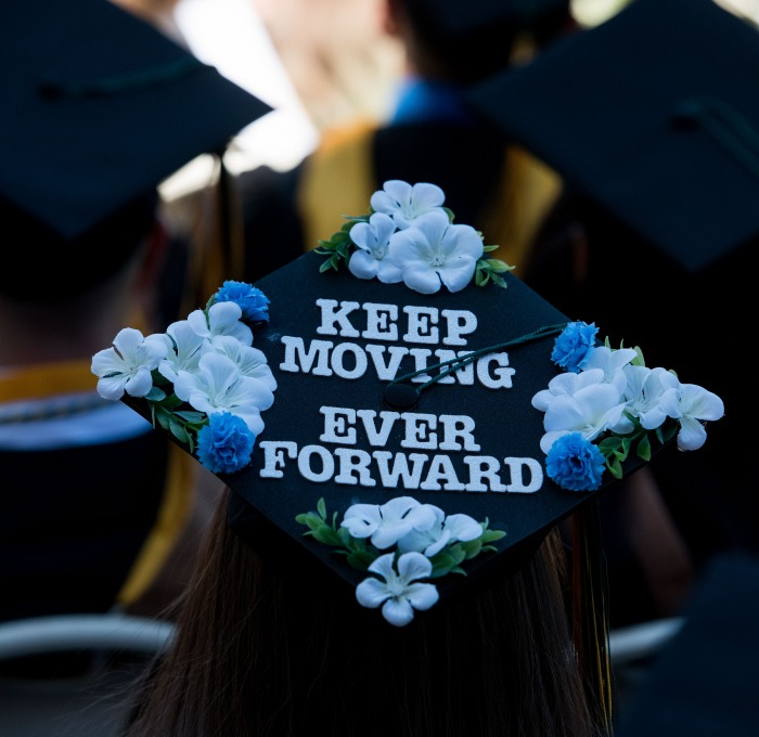 Commencement mortarboard