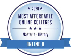 Most affordable online colleges badge_history