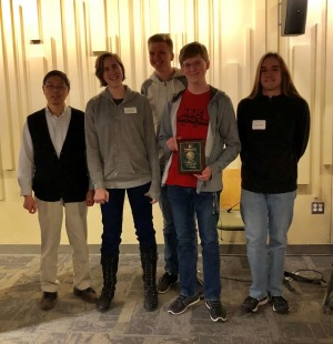 1st place Winners of the 2019 programming contest from Milford High School