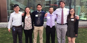 Students at the 2017 Undergraduate Research Conference