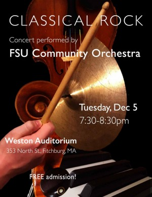 Classical Rock concert performed by FSU Community Orchestra