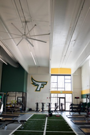 Strength and Conditioning center at Landry Arena