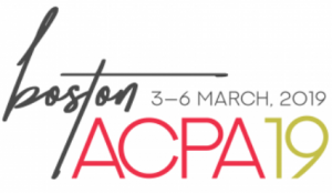 Boston ACPA 19 3-6 March, 2019