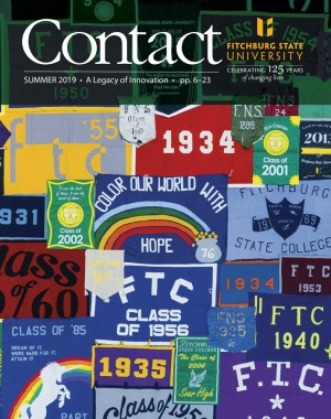 Cover of Contact Summer 2019