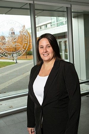 Jennifer Flanagan at Fitchburg State