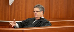 Judge Anthony J. Marotta at the stand