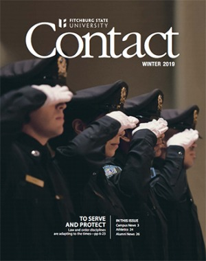 The winter 2019 cover of Contact magazine