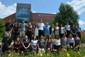 Summer research collaborative students