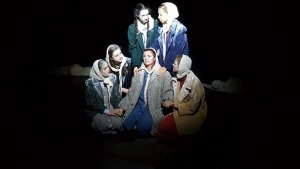 Performing The Women of Lockerbie at Fringe Festival