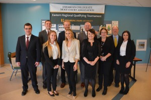 Fitchburg State Moot Court team