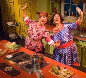 The Calamari Sisters bring their comical cooking show to Fitchburg State on Saturday, Nov. 3.