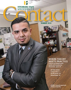 The summer 2018 cover of Contact magazine