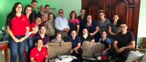 Students and faculty in the Global Public Health Program in Costa Rica