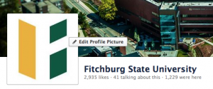 The top of the Fitchburg State University Facebook page